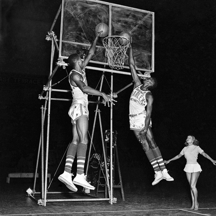 Training der Basketballkünstler