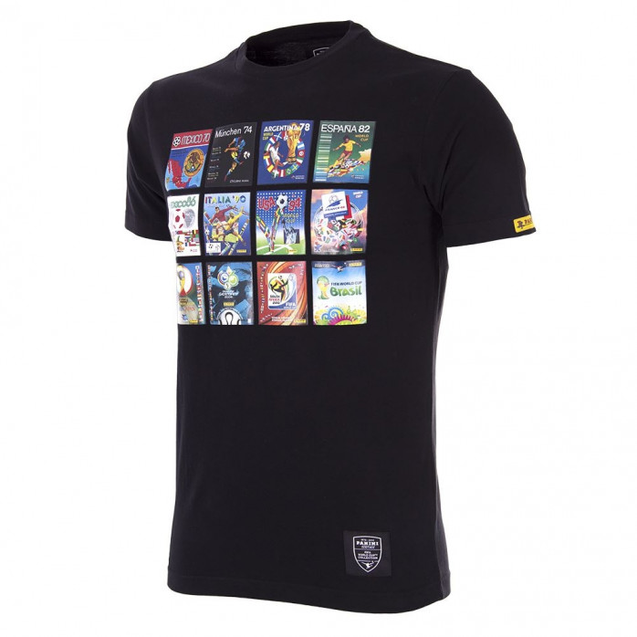 Panini Heritage FIFA World Cup™ Collage T-Shirt - Schwarz