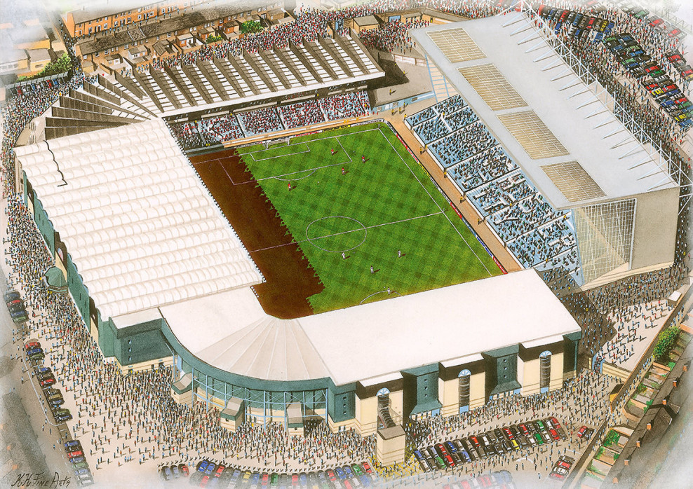 Stadia Art: Maine Road