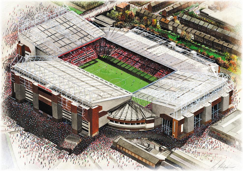 Stadia Art: Old Trafford