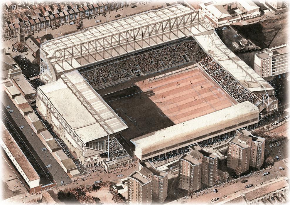 Stadia Art: Upton Park (1)