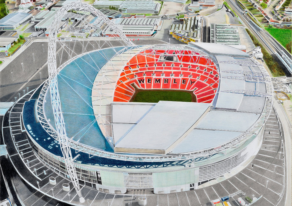Stadia Art: Wembley (1)