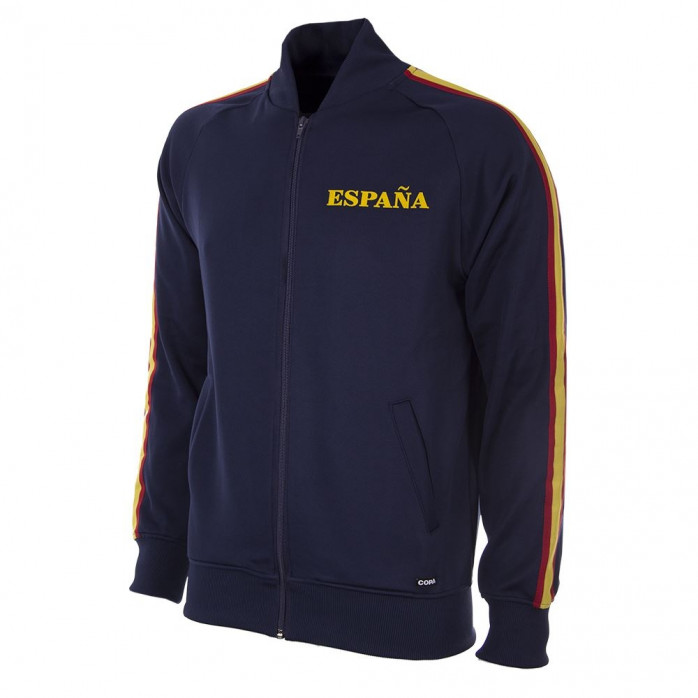 Spain 1978 Retro Football Jacket (blue)
