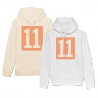 Hoodie - 11 Kasten-Logo (Fairwear & Bio-Baumwolle)
