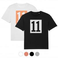 T-Shirt - 11 Kasten-Logo (Fairwear & Bio-Baumwolle)