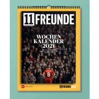 11FREUNDE Cover-Wochenkalender 2021