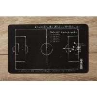 Frühstücksbrettchen: Lewandowski 2015 - Das 5-Tore-Brettchen
