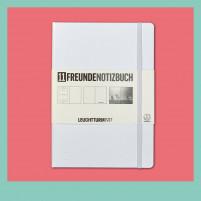 11FREUNDE Notizbuch (Edition 2.0)-Weiß