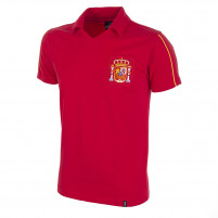 Spain 1980's Short Sleeve Retro Football Shirt