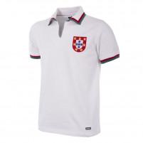 Portugal 1972 Away Short Sleeve Retro Football Shirt