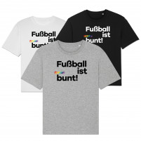 Fußball ist bunt T-Shirt (Fairwear & Bio-Baumwolle)