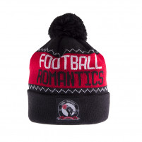 Football Romantics Beanie | Black-White-Red