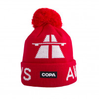 Away Days Beanie | Red-White