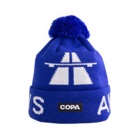 Away Days Beanie | Blue-White