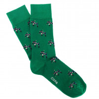 Kung Fu Socks (green)