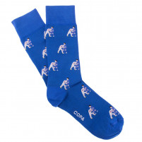Headbutt Socks (blue)