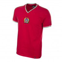 Hungary 1970's Short Sleeve Retro Football Shirt - 562