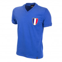 France 1968 Olympics Short Sleeve Retro Football Shirt