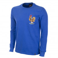 France 1970's Long Sleeve Retro Football Shirt