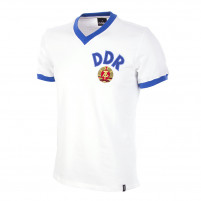 DDR Away World Cup 1974 Short Sleeve Retro Football Shirt