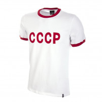CCCP Away 1970's Short Sleeve Retro Football Shirt