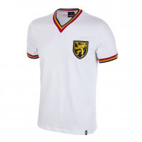 Belgium Away 1970's Short Sleeve Retro Football Shirt