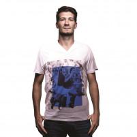 Italy 1982 V-Neck T-Shirt | White