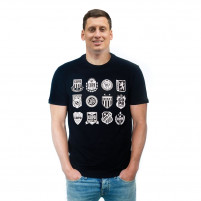 COPA Crests T-Shirt | Black