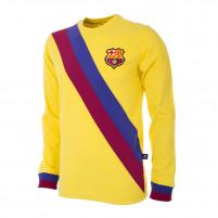 FC Barcelona Away 1974 - 75 Long Sleeve Retro Football Shirt