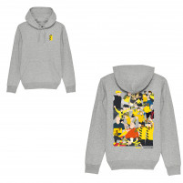 Hoodie - Dortmund Clash (Fairwear & Bio-Baumwolle) - Design: Hands Of God
