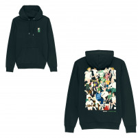 Gladbach Clash Hoodie (Fairwear & Bio-Baumwolle) - Design: Hands Of God