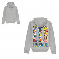 11FREUNDE Clash Hoodie (Fairwear & Bio-Baumwolle)
