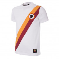 AS Roma Away Retro T-Shirt | White