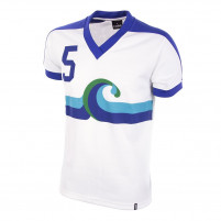 California Surf Away 1980 Short Sleeve Retro Football Shirt