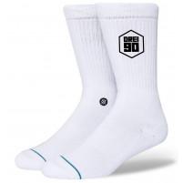 Drei90 Socken weiß