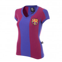 FC Barcelona 1976 - 77 Womens Retro Football Shirt