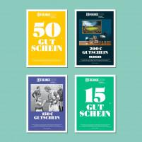 11FREUNDE SHOP Geschenk Gutschein