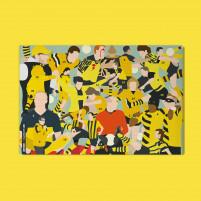 Adventskalender mit Schokolade: Dortmund-Clash - 11FREUNDE x HANDS OF GOD