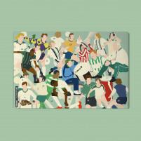 Adventskalender mit Schokolade: Gladbach-Clash - 11FREUNDE x HANDS OF GOD