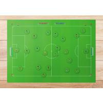 Magnet- / Taktiktafel: Sensible Soccer Look