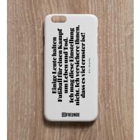 Zitat: Leben und Tod - Smartphonehülle - 11FREUNDE SHOP