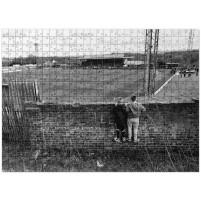 Puzzle: Blick über die Mauer