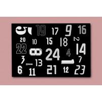 Adventskalender: 24 Rückennummern - mit Schokoladentafeln von Sarotti - 11FREUNDE SHOP