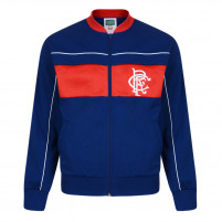 Glasgow Rangers Trainingsjacke 1984 - Score Draw Retro Football Jacket - 11FREUNDE SHOP - Fußball Fan Artikel