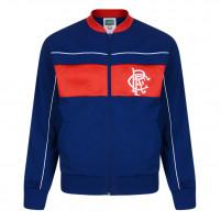 Glasgow Rangers Trainingsjacke 1984 - Score Draw Retro Football Jacket - 11FREUNDE SHOP - Fußball Fan Artikel