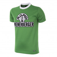 SK Rapid Wien 1976 - 77 Short Sleeve Retro Football Shirt