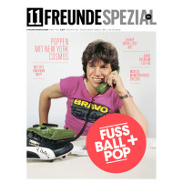 11FREUNDE SPEZIAL - Fussball + Pop