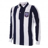 West Bromwich Albion 1953 - 54 Long Sleeve Retro Football Shirt