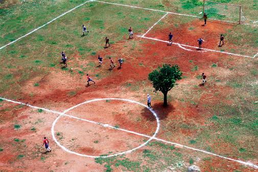 Bolzplatz in Brasilien