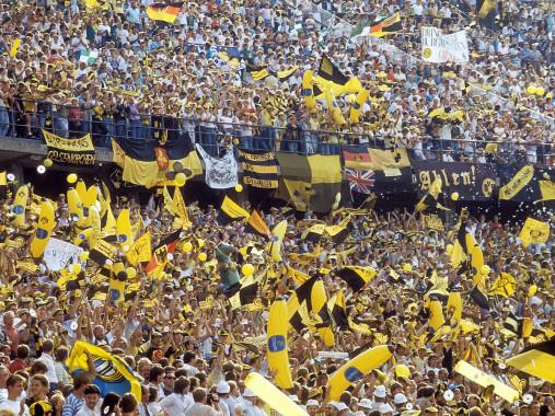 BVB Fans in Berlin - 11FREUNDE BILDERWELT